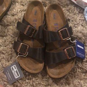 Birkenstock size 40 soft sole NEW w/ tags